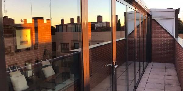 Cerramientos de terraza en Alcalá de Henares