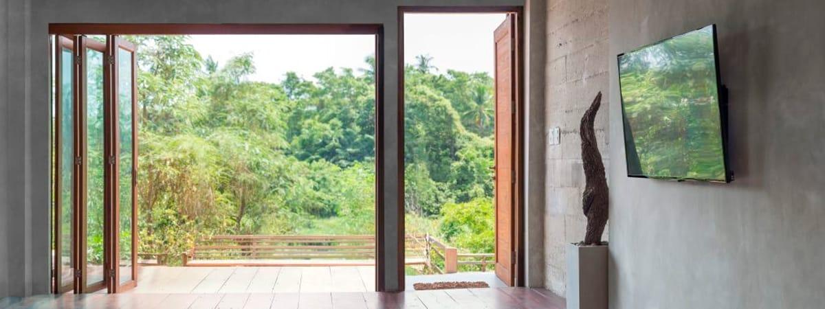 cortina cristal Majadahonda