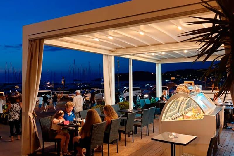 instalar un cerramiento de terraza en tu restaurante